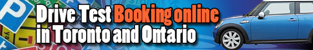 Drive test booking at Toronto Etobicoke and Renfrew