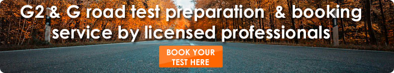 road test booking Ontario